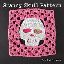 Skull Crochet Pattern Enchanting Granny Skull Pattern Crochet Nirvana
