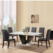 luxury dining room sets marble. fine luxury modern marble dining table and 6 chairs furnitureinfashion uk midas gloss  black dining room table  for luxury room sets o