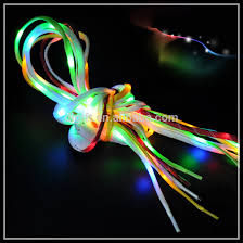 new design light up shoe strings promotional gift led shoelaces