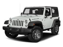 2018 bright white clearcoat jeep wrangler jk rubicon automatic 2 door 4x4