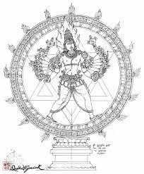 Sudarshana Murti Divyakala Art 1 In 2019 Hindu Art India Art