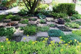 garden paths and stepping stones. checkerboard herb garden | here\u0027s a bunch of creative ideas for designing paths and walkways stepping stones s
