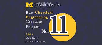 ChE rises in U.S. News & World Report graduate program rankings ...