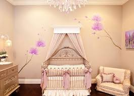 kids bedroom baby girl nursery themes ideas crystal chandelier white benches framed window wooden crib