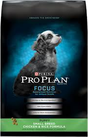 Purina Pro Plan Focus Puppy Small Breed Formula Dry Dog Food 6 Lb Bag