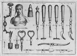trepanation tools. file:instruments for trephination from bertrandi\u0027s \ trepanation tools h