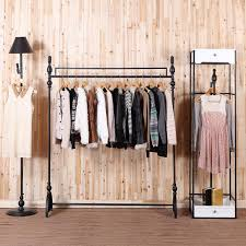 Display Stand For Hanging Clothes C Iron Clothing Rack Clothing Store Display Racks for Hanging 2