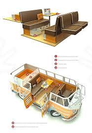 cervan interior volkswagen vw bus t2 volkswagen bus cer kombi motorhome vw