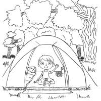 Small Picture Camping Coloring Pages FamilyFunColoring