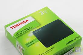 Обзор внешнего <b>жёсткого диска Toshiba Canvio</b> Basics 2TB (2 ТБ ...
