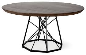 trinity dining table box a b brown industrial dining tables by hedgeapple