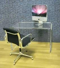 clear office desk. Clear Acrylic Desk Office Minimalist  Chair Drawer Organizer Clear Office Desk