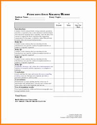 008 Persuasive Essay Rubric Middle School Example Format
