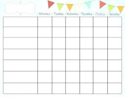 Chore Chart Templates Free Printable My Chore Chart Printable Godiamond Info