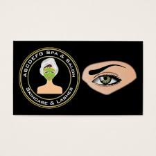 aesthetician esthetician and makeup artist business card artists unique special customize presents