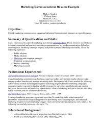 Communication Skills For Resume Free Resume Templates 2018