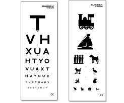 Double Vision Test Chart Eyes Vision Eye And Vision Test