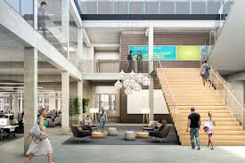 amazon office space. amazon leases office space at 300 pine j