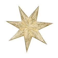 Set Gold Star 45cm
