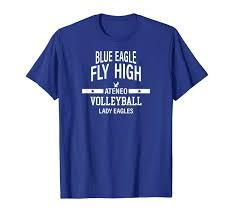 Ateneo T Shirt Designs Lady Eagles Amazon Com Ateneo Lady Eagles Blue Eagle T Shirt Clothing