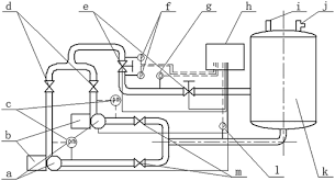 optimization research of parallel pump system for improving energy schematic of test bench and connections a pump