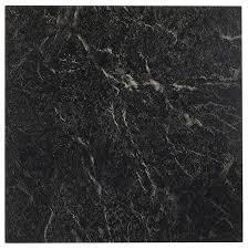 black marble floor tiles. Amazon.com: Achim Home Furnishings FTVMA40920 Nexus 12-Inch Vinyl Tile, Marble Black With White Vein, 20-Pack: Improvement Floor Tiles