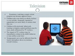 impact of tv on children pptx television