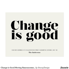 Design Your Own Change Of Address Cards Create Your Own Postcard Zazzle Com Moving Announcements