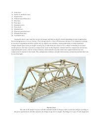 wood bridge design plans