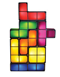 Buy Tetris Light Amazon Com Tetris Led Games Light Constructible Desk Lamp