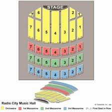 radio city seating chart lovely vipseats radio city hall tickets