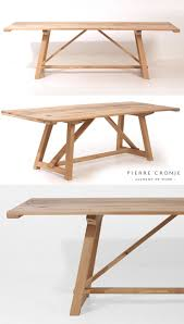 Natural Wood Dining Tables 17 Best Images About Dining Tables On Pinterest Metals
