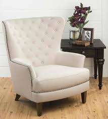 Accent Wingback Chairs Jofran Conner Chair Oversized Wing Back Accent Chair With Antique