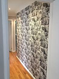 black and white photo collage wall black and white photo collage feature wall diy i might