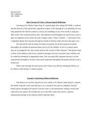 impromptu reflection essay impromptu personal reflection my 1 pages famous speech reflection essay