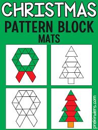 <b>Christmas Pattern</b> Blocks - PreKinders