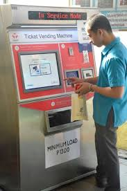 Load Vending Machine Mesmerizing FileAutomatic Fare Collection System Beep Card Loadjpg Wikimedia