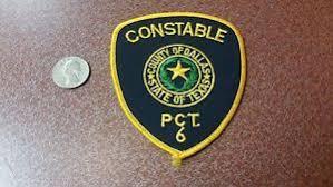 Dallas County Texas Constable Police Patch Ebay