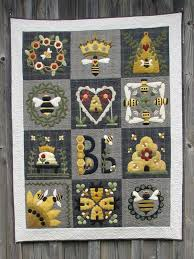 Blessed Bee Quilt – Wooden Spool Designs & Blessed Bee Quilt Adamdwight.com