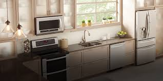stove top microwave. Delighful Microwave Bright Modern Kitchen Featuring An LG Over The Range Microwave Oven And Stove Top Microwave O