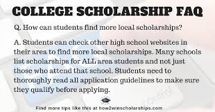 scholarship tips college scholarship tips to more local scholarships found at how2winscholarships