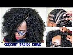 Crochet Braid Pattern Side Part
