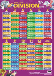 Dominie Time Tables Division Facts Chart Division Chart