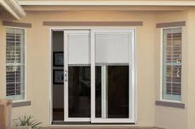 patio doors with blinds house design