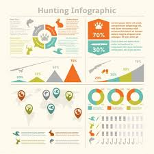 Free Fishing Charts Hunting Animals Wildlife Fishing Infographics With Diagrams