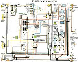 free auto wiring diagram 1971 vw beetle and super byocar showy car wiring diagram pdf at Automotive Wiring Diagrams