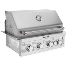 kitchenaid 30 inch built in natural gas grill with rear burner ships as propane with natural gas fittings 740 0780 bbq guys