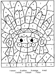In graph theory, a branch of mathematics, list coloring is a type of graph coloring where each vertex can be restricted to a list of allowed colors. Free Printable Color By Number Coloring Pages Best Coloring Pages For Kids