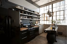 Raw Wood Kitchen Cabinets Kitchen Black Kitchen Ideas Features Black Kitchen Cabinet And