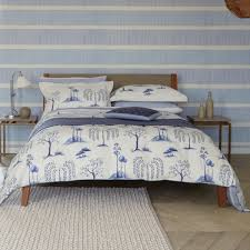 Willow Tree Blue Toile Bedding by Sanderson at Bedeck 1951 & Sanderson Willow Tree Bed Linen ... Adamdwight.com